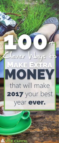 This clever list of 100+ ways to make extra money is AMAZING. So many good ways to make extra money and boost your savings.