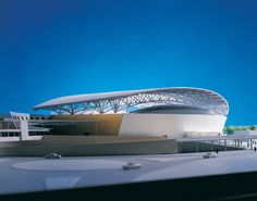 Regional Indoor Stadium, Fanling Location: Hong Kong Year: 1995 Client: Architectural Services Department