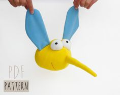 Kids Fashion – Mosquito Sewing Pattern Plush Toy PDF Stuffed toy – a unique…