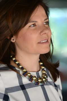 #Collar #necklace de Bimba & Lola #workingoutfits #businesswomen #businesschic