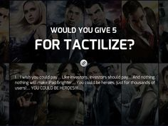 Heroes - Created on Tactilize