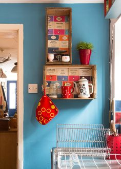 Shauna & John's Post Punk Eclectic English Home and Artist's Studio