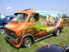 1976 Dodge Street Van. #CustomVan #VanGo #DodgeVan