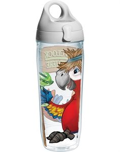 Margaritaville - It's 5 O'Clock Somewhere Parrot - Wrap with Lid - water bottle