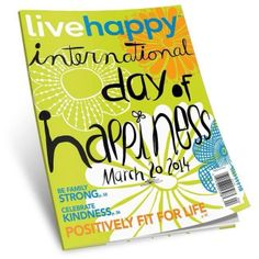 March 20, 2014 not only brings the Spring Equinox but also the U.N.'s secind celebation of the International Day of Happiness:)