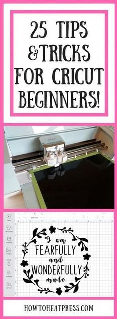 Sewing For Beginners Projects 25 Tips and Tricks For Cricut Beginners! - We recently bought a new Cricut Explore Air 2 and have been learning tons! We've got some great tips and tricks to share with you. Our number one tip is. How To Use Cricut, Cricut Help, Cricut Air 2, Diy Cards With Cricut, Vinyl For Cricut, Cricut Monogram, Cricut Fonts, Disney Insider, Cricut Explore Projects