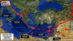 Crete is considered to play a key role on energy scene, as East Med Pipeline will be extended to Cyprus, Crete, then in western Greece, the Peloponnese and Epirus and would come eventually the Gree… West Bank Israel, Pipeline Project, Vatican Rome, Ubs, Mediterranean Sea, Albania, Crete, Renewable Energy, Cyprus