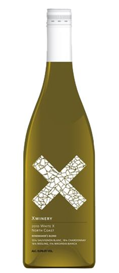X WINERY white X wine PD