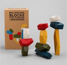 Blocks Love these Balancing Blocks for fine motor and visual motor skills, creativity and science exploration.Love these Balancing Blocks for fine motor and visual motor skills, creativity and science exploration. Activities For Kids, Crafts For Kids, Creative Toys For Kids, Creative Play, Wood Toys, Wooden Toys For Kids, Wooden Baby Toys, Kids Wood, Diy Toys