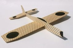 balsa wood airplane with nice graphics