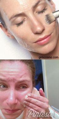 Homemade Facial Chemical Peels