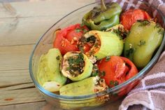 Baked Vegetables with Tomatoes Squashes and Rice Best Dessert Recipes, Fun Desserts, Delicious Desserts, Dinner Recipes, Healthy Recipes, Baked Vegetables, Squashes, Salmon Recipes, Family Meals