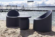 Serralunga furniture #Bay #armchair #outdoor #design #illuminatedarmchair #comfortable #plastic