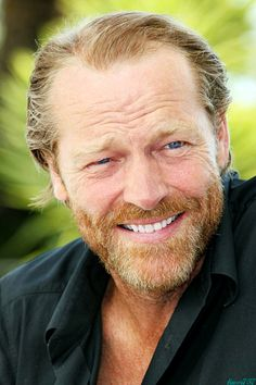 Iain Glen - and his beautiful smile…