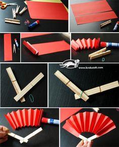 china activities for kids Chinese New Year Crafts For Kids, Chinese New Year Decorations, Chinese Crafts, Diy For Kids, New Year's Crafts, Summer Crafts, Craft Stick Crafts, Chinese Party, Sushi Party