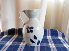 Vintage Williamsburg Pottery Hand-Carved Salt Glaze
