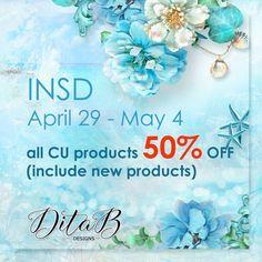 Go Shopping, Digital Scrapbooking, Design