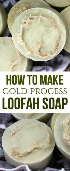 by step directions will help you create your own Loofah Soap that's moisturizing for skin and perfect to gift to friends and family! Soap Making Recipes, Homemade Soap Recipes, Lip Balm Recipes, Homemade Lip Balm, Cold Process Soap, Beauty Recipe, Home Made Soap, Create, Friends