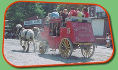 The Wells Fargo Stagecoach at Wild West City - Netcong, New Jersey - went there as a kid and it is still up and running, amazing that there is still a market today for this kind of entertainment.