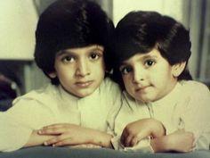 Rashid y Hamdan bin Mohammed bin Rashid Al Maktoum