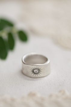 Sunburst Diamond Ring {Sterling Silver} I love this so much! I am Bek, and I approve this post!!!