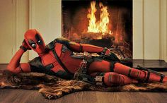 Ryan Reynolds as Deadpool. How sexy is Ryan Reynolds' Wade Wilson? Deadpool Film, Deadpool Animated, Deadpool 2016, Deadpool Stuff, Deadpool Humor, Deadpool Quotes, Dead Pool, Wade Wilson, Deadpool Wallpaper