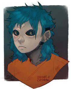 Sally Face by ScribbleWoof.deviantart.com on @DeviantArt