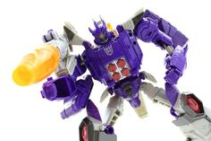Galvy is Back - Galvatron & Nucleon In-Hand Images Titans Return Transformers Figure