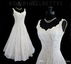 Wholesale Corset Prom Dresses - Buy Plus Size New 2014 Lace V Neck Sexy Tea Length Short Beach Wedding Dress Actual Imagine A-line Sleeveless Bridal Wedding Gown, $107.81 | DHgate