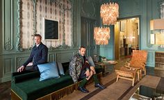 Our new favourite apartment in Rome doesn't belong to the kind of pedigreed aristocrat that typically holds the keys to high-end real estate in this ancient city. Instead, it belongs to Fendi. Designed by Emiliano Salci and Britt Moran, of Dimore S...