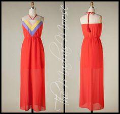 Halter Maxi Dress... perfect for summer!