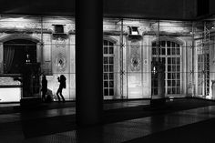 At Night Ⅲ - Shooting at Kaisersaal; Berlin, Potsdamer Platz