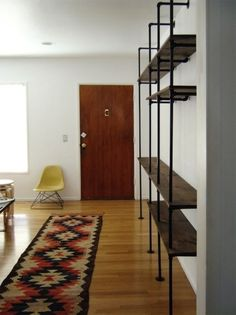 DIY: Shelving System from the Brick House : Remodelista
