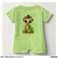 Ned + Baby Romper