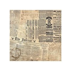 Extra Paper Et Cetera By Bo Bunny ($5) ❤ liked on Polyvore featuring backgrounds, art, newspaper, text and wallpaper