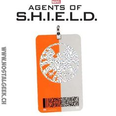 Figurine Marvel Agents of S.H.I.E.L.D. ID Badge Replica geek suiss...