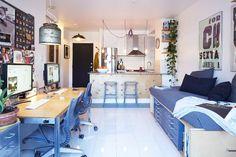 3 in 1 kitchen/workplace/livingroom