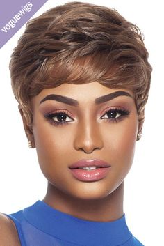 The Becky Synthetic Wig from Outre is a bold, lightweight pixie. It's tapered at the sides for a sleeker look. The Becky is made from High Tex® heat friendly fibers so you can add a little curl at the ends or wear as is right out of the box!