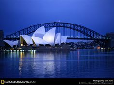 Sydney Harbor-This natural harbour is where you can find the iconic Sydney Opera House and magnificent Sydney Harbour Bridge.    The best time of year to visit is New Year when you can witness the breathtaking sight of the world famous and  spectacular New Years Eve Fireworks.