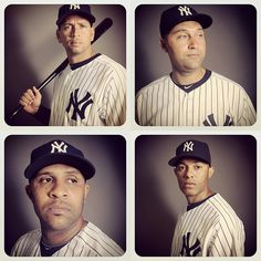 Instagram Portraits of the New York Yankees shot with an iPhone in the clubhouse bathroom! Amazing.