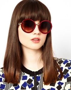 round sunglasses are IN this spring