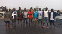 Hot News Naija: NIGERIAN NAVY HANDS OVER 12 SUSPECTED OIL THIEVES ...