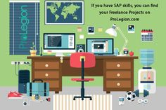 How to hire and collaborate with SAP freelancers ? Create your profile on ProLegion.com