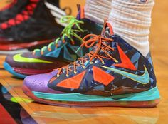 official photos c27a3 bca2d nike lebron 10 pe what the mvp 2 01 King James Switches out of the Nike  LeBron X What the MVP