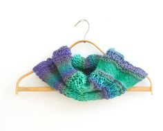 Neck Warmer Knitting Pattern Instant Download Cowl por beadedwire