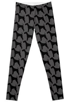 Unique Patterns - illustration design  Leggings dog by FallenRevol