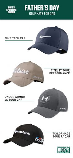 the best attitude b6aa7 b1694 Golf Hats for Dad is a great Father s Day present for the golfer father.