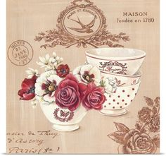 Parisian Flowers IV