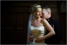 Lilleshall National Sports Centre wedding - this is what we do if it rains, use lovely light inside to create beautiful portraits One Shoulder Wedding Dress, Centre, Wedding Photos, Wedding Photography, Portraits, Wedding Dresses, Sports, Beautiful, Fashion