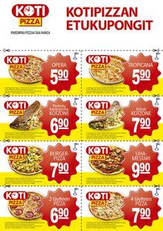 Mainonnan teho on Kotipizzankin menestyksen takana. Näitäkin Liikekirjapaino duunailee.